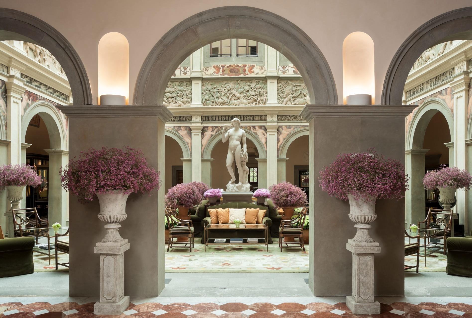 Four Seasons Hotel Firenze, Lobby