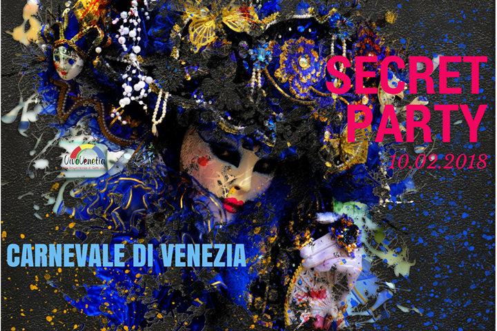 Venice Carnival Secret Party