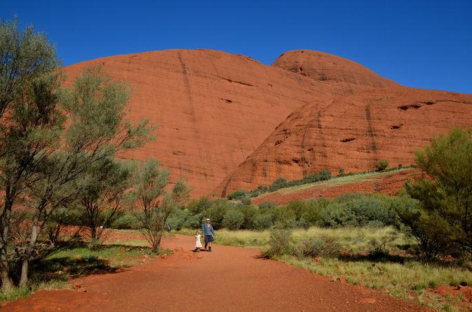 Ayers Rock Australia: la terra rossa