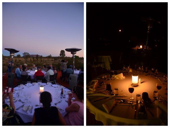 Ayers Rock: la cena sotto le stelle