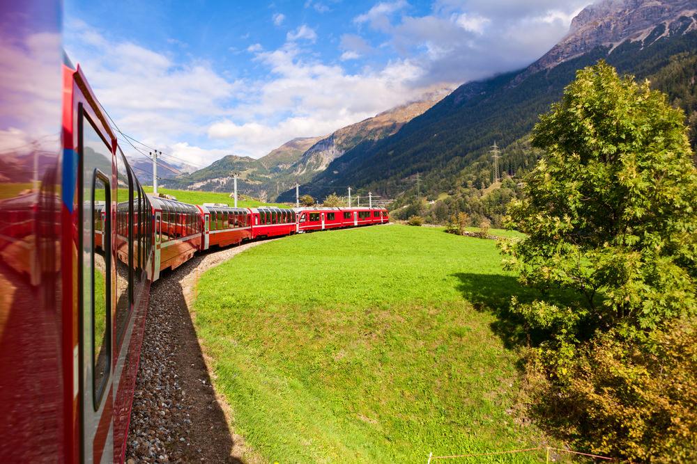 St. Moritz Bernina Express