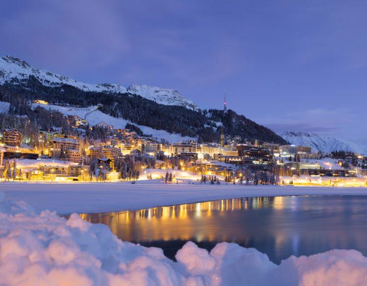 St. Moritz in inverno