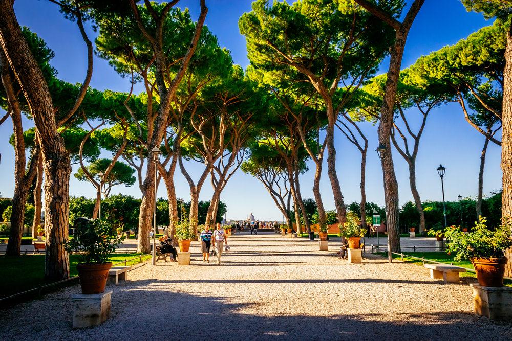 Terrazze panoramiche di Roma, Giardino degli Aranci
