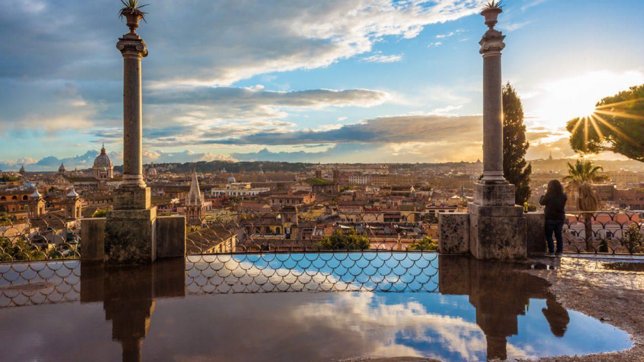 Sono Loro Le Terrazze Panoramiche Più Belle Di Roma