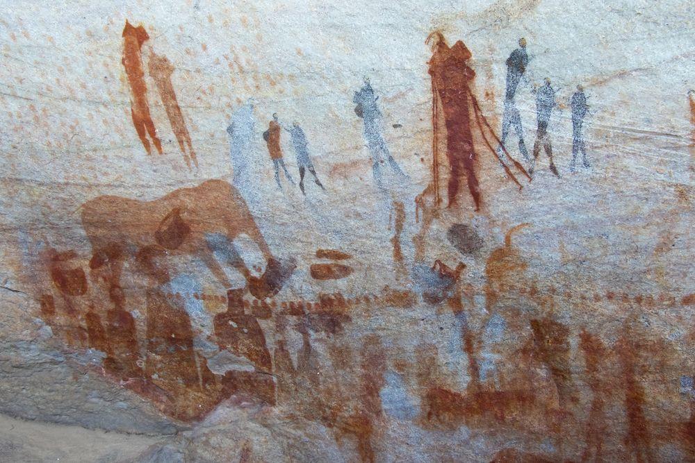 La Star Suite delle rocce in Sudafrica: graffiti