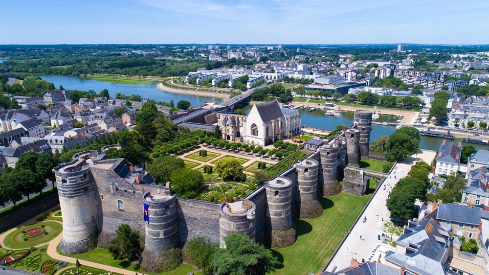 Castelli della Loira, Angers