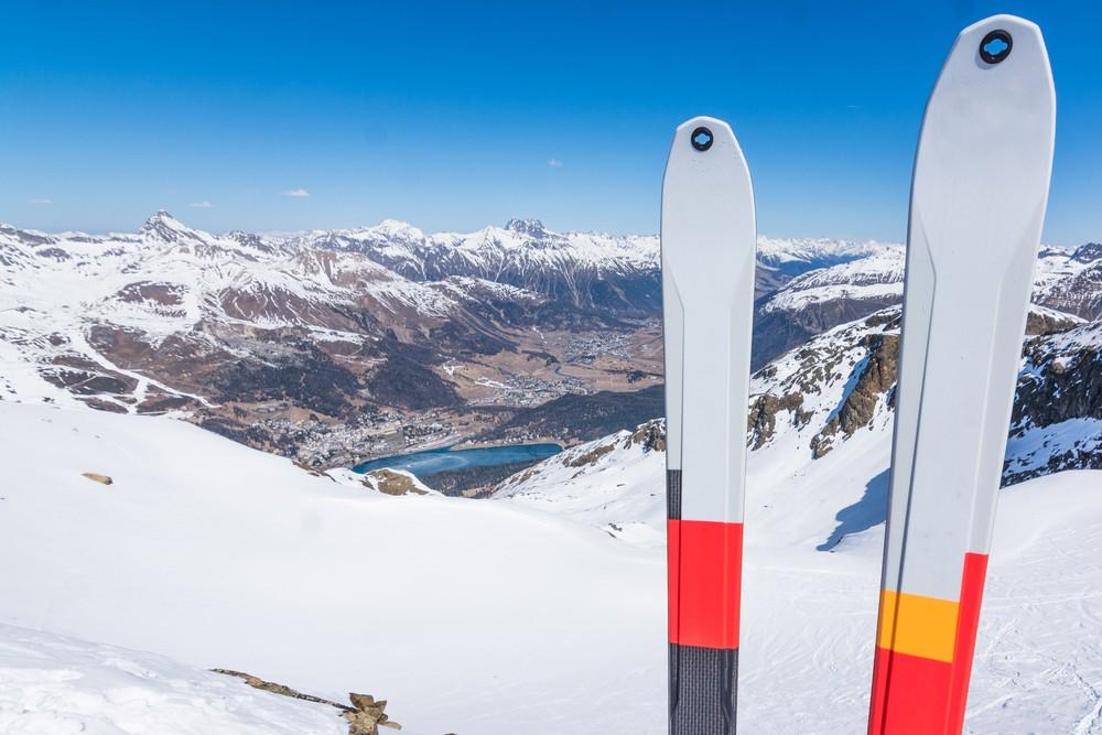 St. Moritz sci