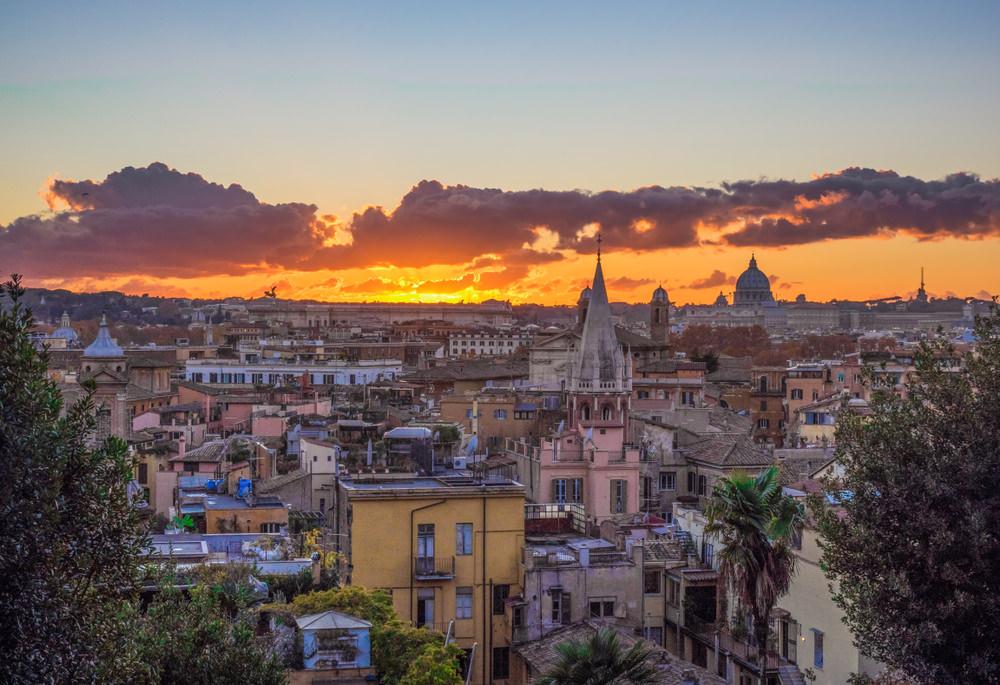 Terrazze panoramiche di Roma, Pincio