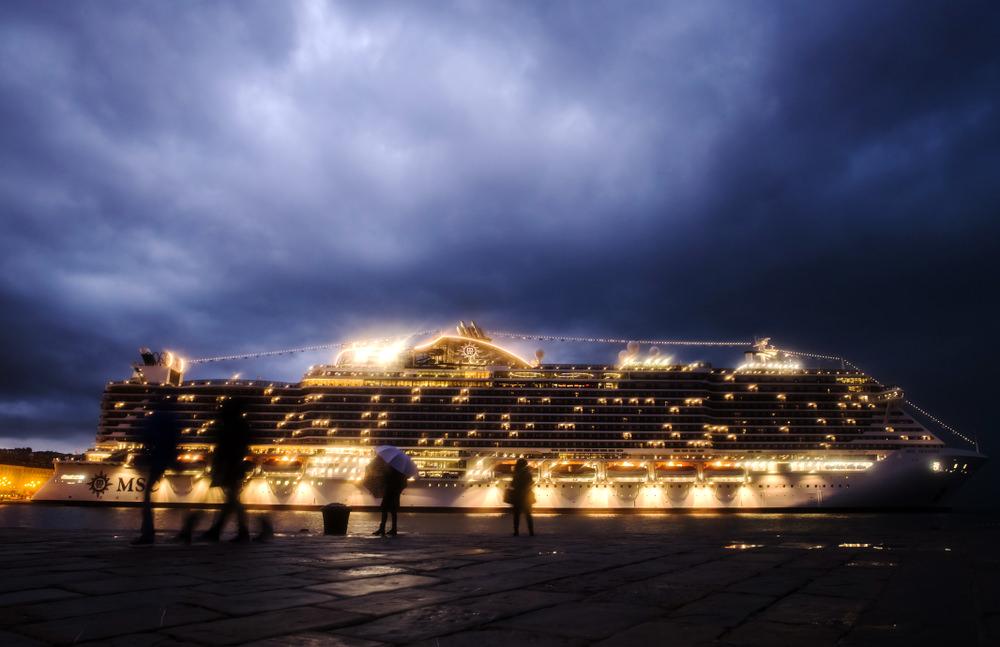 MSC Seaside, varo Trieste