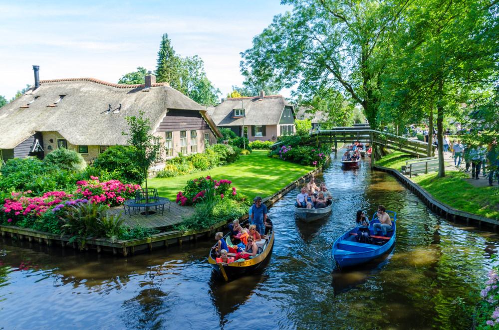Città sui canali - Giethoorn